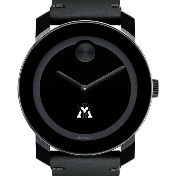 Virginia Military Institute Men's Movado BOLD with Leather Strap