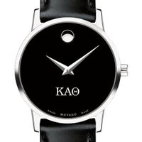 Kappa Alpha Theta Women's Movado Museum with Leather Strap