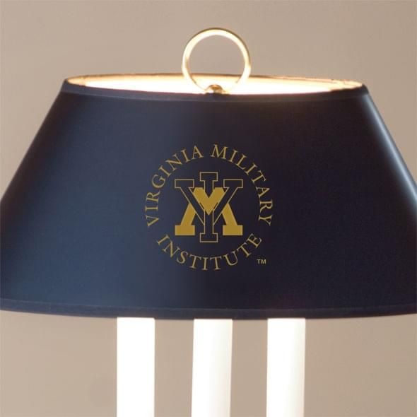 Virginia Military Institute Lamp in Brass & Marble - Image 2
