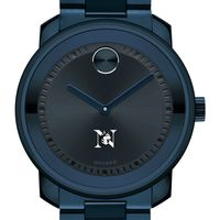 Northeastern University Men's Movado BOLD Blue Ion with Bracelet