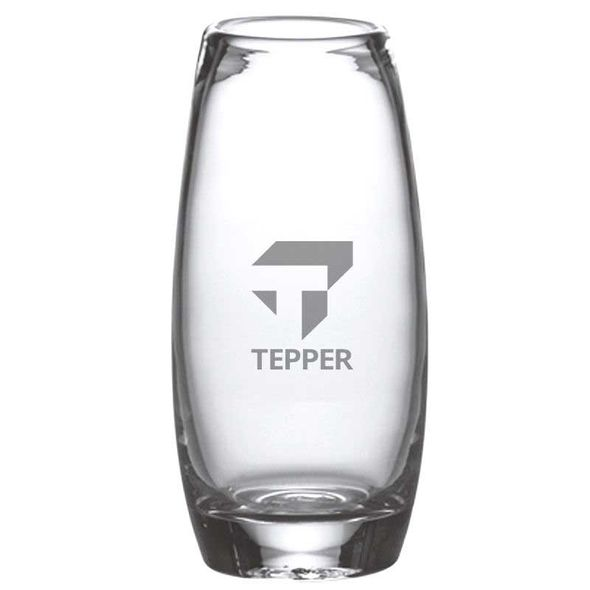 Tepper Glass Addison Vase by Simon Pearce