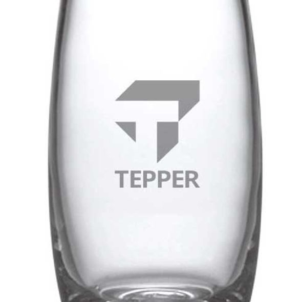 Tepper Glass Addison Vase by Simon Pearce - Image 2