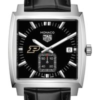 Purdue University TAG Heuer Monaco with Quartz Movement for Men
