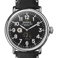 Georgetown Shinola Watch, The Runwell 47mm Black Dial