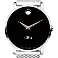 Christopher Newport University Men's Movado Museum with Mesh Bracelet