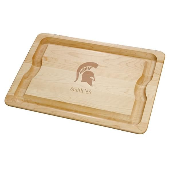 Michigan State Maple Cutting Board