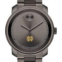 University of Notre Dame Men's Movado BOLD Gunmetal Grey