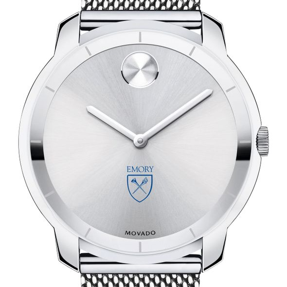 Emory University Men's Movado Stainless Bold 44
