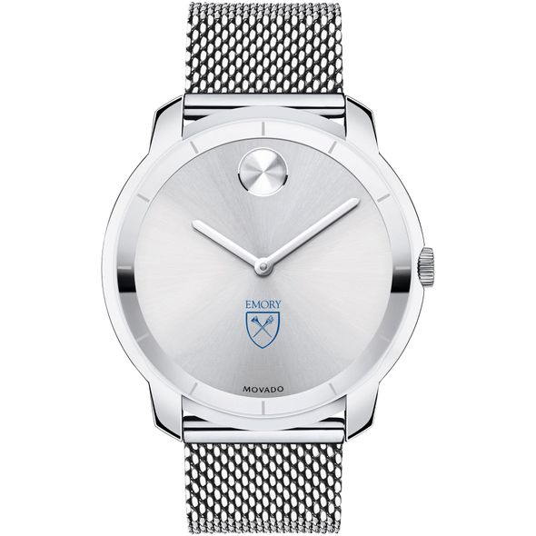Emory University Men's Movado Stainless Bold 44 - Image 2