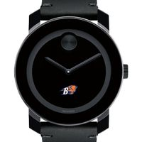 Bucknell University Men's Movado BOLD with Leather Strap
