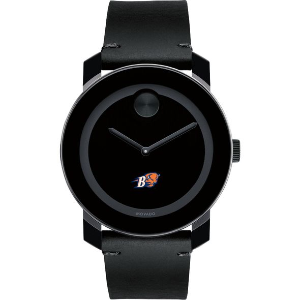 Bucknell University Men's Movado BOLD with Leather Strap - Image 2