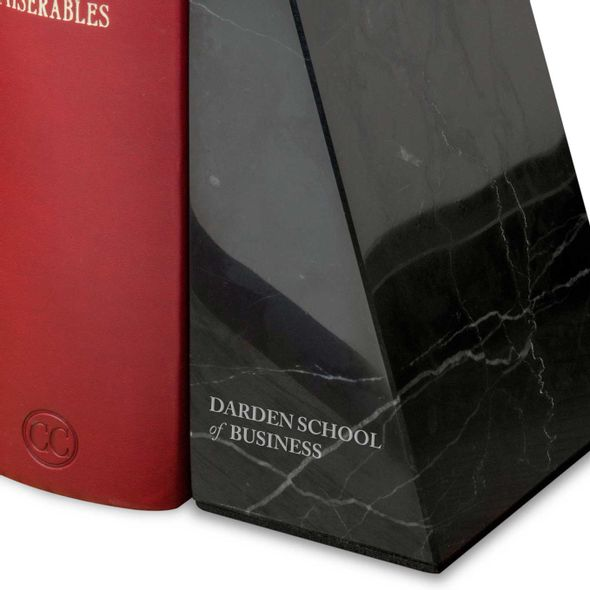 UVA Darden Marble Bookends by M.LaHart - Image 3