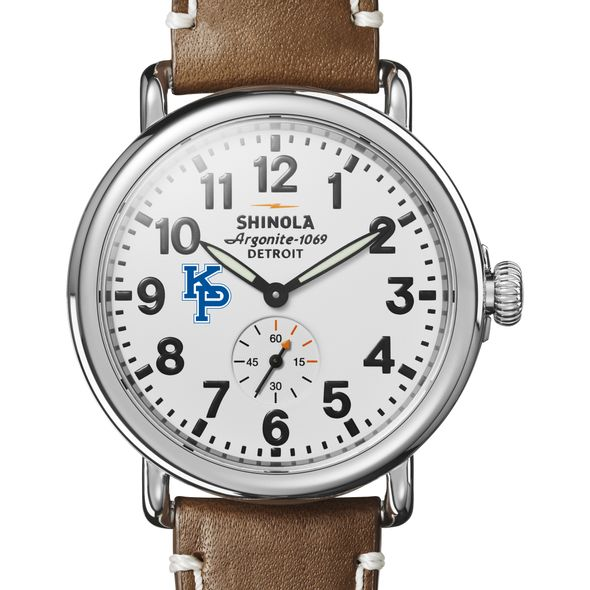 USMMA Shinola Watch, The Runwell 41mm White Dial - Image 1