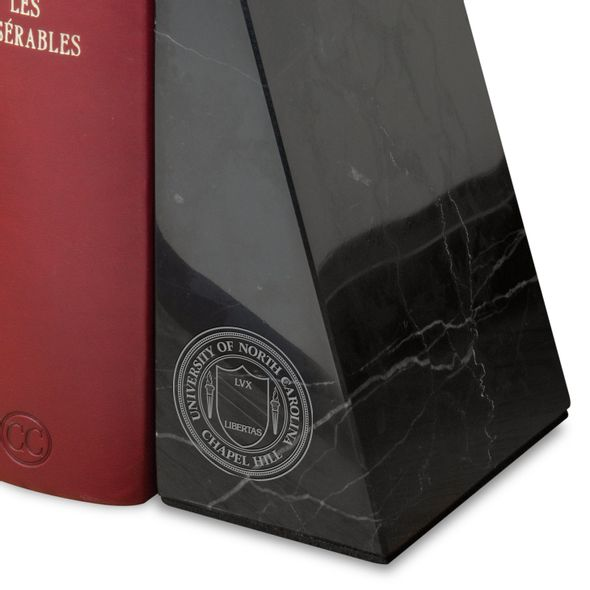 University of North Carolina Marble Bookends by M.LaHart - Image 2