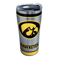 Iowa 20 oz. Stainless Steel Tervis Tumblers with Hammer Lids - Set of 2