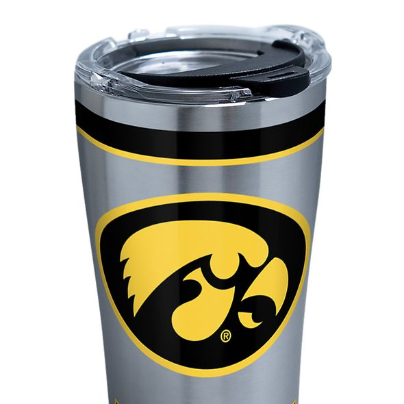 Iowa 20 oz. Stainless Steel Tervis Tumblers with Hammer Lids - Set of 2 - Image 2