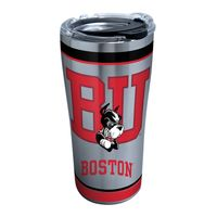 BU 20 oz. Stainless Steel Tervis Tumblers with Hammer Lids - Set of 2