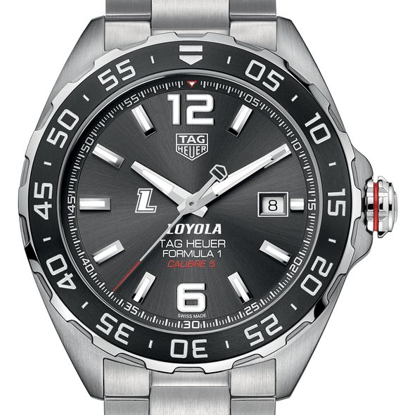 Loyola Men's TAG Heuer Formula 1 with Anthracite Dial & Bezel - Image 1