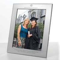 James Madison Polished Pewter 8x10 Picture Frame