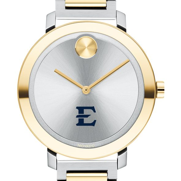 East Tennessee State University Women's Movado Two-Tone Bold 34