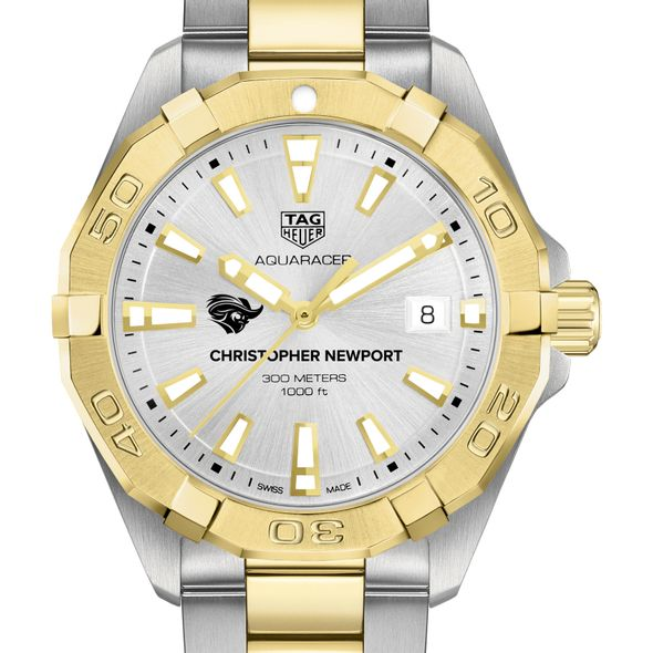 Christopher Newport University Men's TAG Heuer Two-Tone Aquaracer