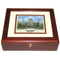 Virginia Tech Eglomise Desk Box
