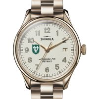Tulane Shinola Watch, The Vinton 38mm Ivory Dial