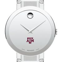 Texas A&M University Men's Movado Sapphire Museum with Bracelet