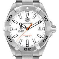 Southern Methodist University Men's TAG Heuer Steel Aquaracer