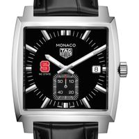 North Carolina State TAG Heuer Monaco with Quartz Movement for Men