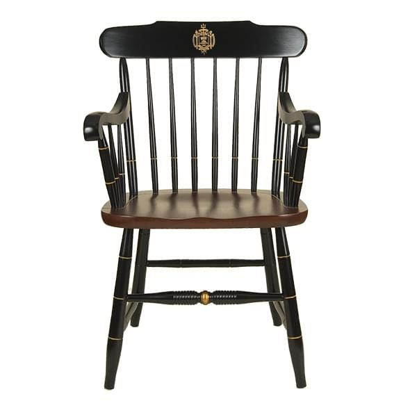 US Naval Academy Captain's Chair by Hitchcock
