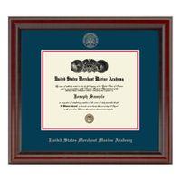 US Merchant Marine Academy Diploma Frame, the Fidelitas
