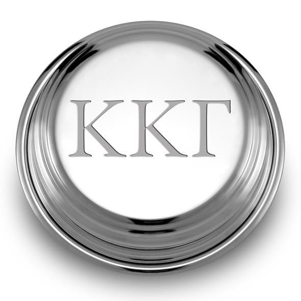 Kappa Kappa Gamma Pewter Paperweight - Image 2