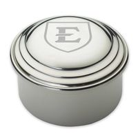 East Tennessee State University Pewter Keepsake Box