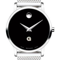 Georgetown University Women's Movado Museum with Mesh Bracelet