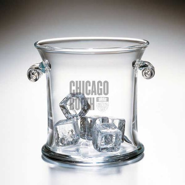 Chicago Booth Glass Ice Bucket by Simon Pearce - Image 1