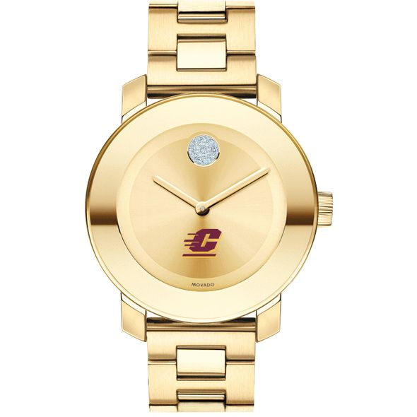 Central Michigan Women's Movado Gold Bold - Image 2