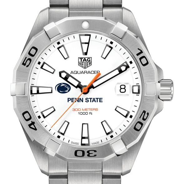 Penn State University Men's TAG Heuer Steel Aquaracer - Image ...