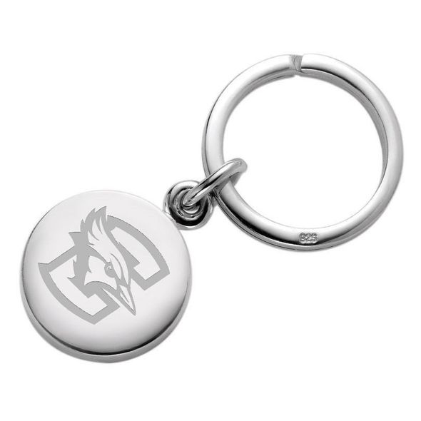 Creighton Sterling Silver Insignia Key Ring