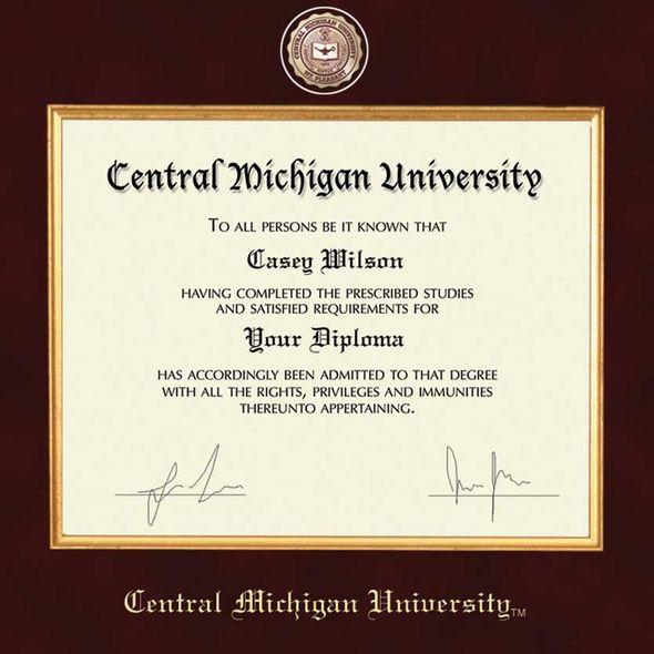 Central Michigan Diploma Frame - Excelsior - Image 2