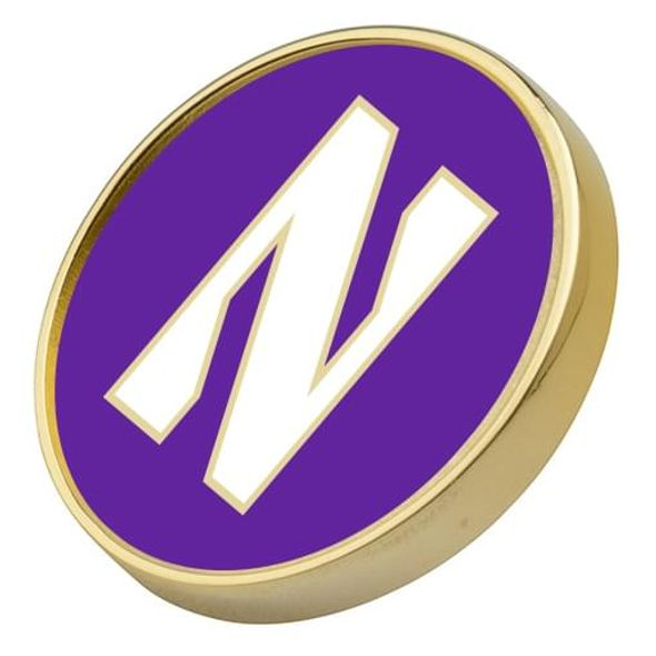 Northwestern Lapel Pin - Image 2