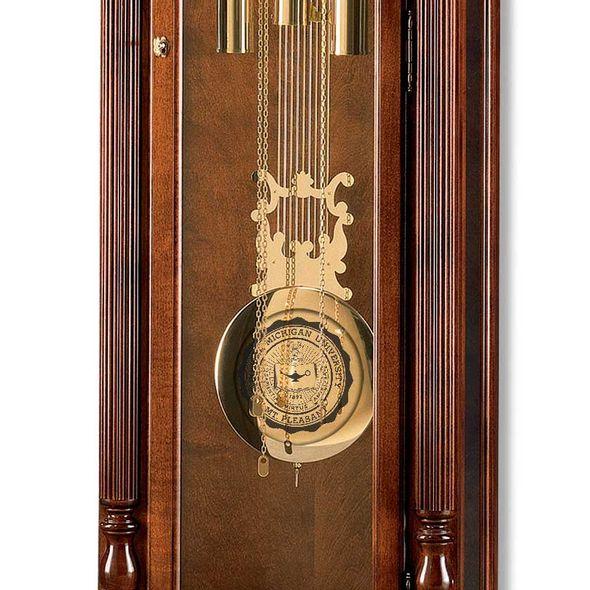 Central Michigan Howard Miller Grandfather Clock - Image 2