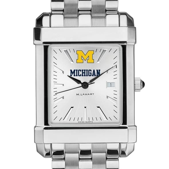 Michigan Men's Collegiate Watch w/ Bracelet