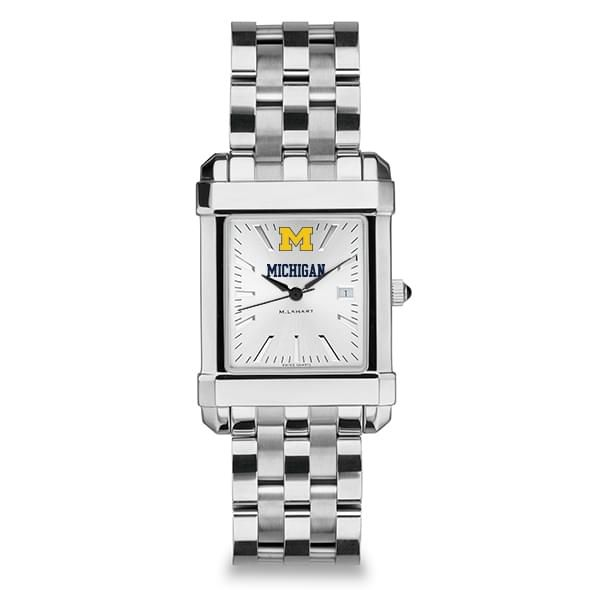 Michigan Men's Collegiate Watch w/ Bracelet - Image 2