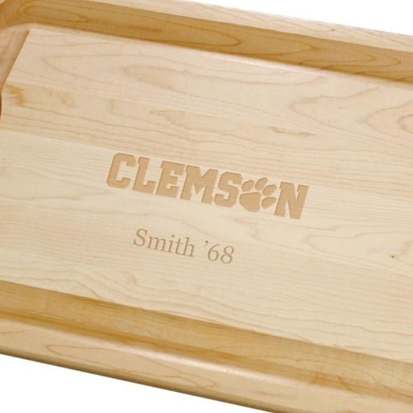 Clemson Maple Cutting Board - Image 2