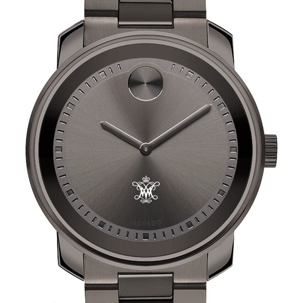 College of William & Mary Men's Movado BOLD Gunmetal Grey