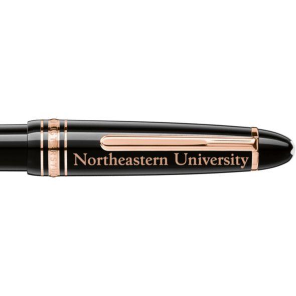 Northeastern Montblanc Meisterstück LeGrand Ballpoint Pen in Red Gold - Image 2