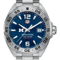 Michigan Ross Men's TAG Heuer Formula 1 with Blue Dial