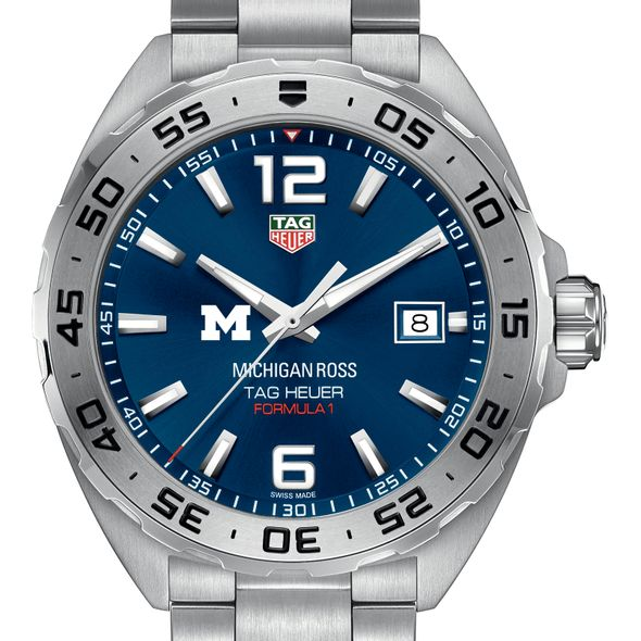 Michigan Ross Men's TAG Heuer Formula 1 with Blue Dial - Image 1