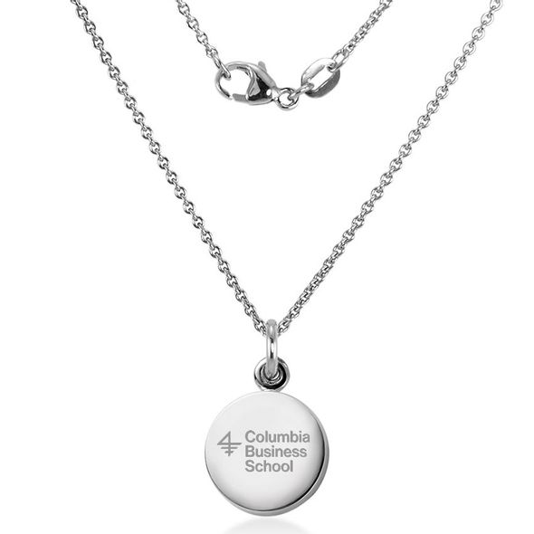 Columbia Business Necklace with Charm in Sterling Silver - Image 2